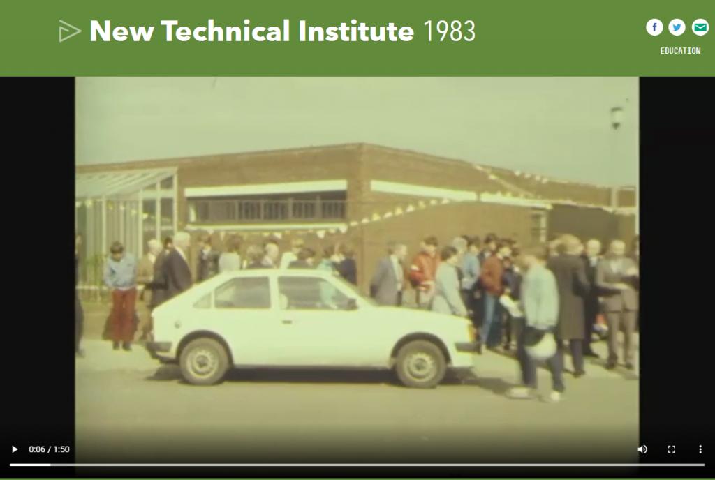 Ringsend College 1983 - RTE Archive